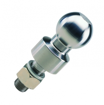40mm RAISED CHROME 50MM TOWBALL FREE DELIVERY