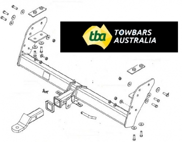 XLT / WILDTRAX & Hi-Rider models only - replaces low ground clearance factory fitted Ford towbar
