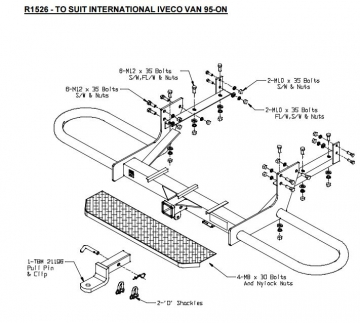ve wagon towbar fitting instructions