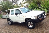 HILUX 4WD TRAYBACK (vehicle without rear bumper step)