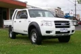 RANGER 4WD TRAYBACK (no rear bumper step fitted)