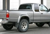 HILUX 4WD STYLESIDE UTE (vehicle with rear bumper step fitted)