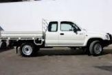 HILUX 2wd and 4wd TRAYBACK (vehicle without rear bumper step)