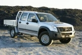 D-MAX 2wd and 4wd TRAYBACK (vehicle without rear bumper step)