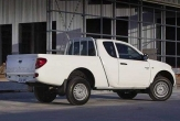 TRITON 2wd and 4wd CLUBCAB UTE (vehicle without rear bumper step fitted)