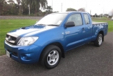 HILUX 2wd STYLESIDE UTE (vehicle without rear bumper step)
