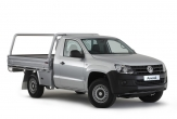 AMAROK 2WD (Vehicle without factory rear step)