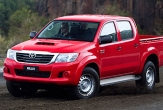 HILUX 4wd STYLESIDE UTE (vehicle without rear bumper step)