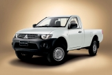 TRITON 2wd and 4wd STYLESIDE UTE (vehicle without rear bumper step fitted)
