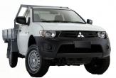 TRITON 2wd and 4wd SINGLE CAB Trayback (vehicle without rear bumper step fitted)