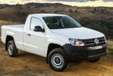 AMAROK 2WD (Vehicle with factory rear bumper step fitted)