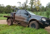4WD and 2WD (all models) (SUITS VEHICLE WITH OVERSIZE SPARE WHEEL)