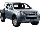 D-MAX TF 2wd and 4wd (vehicle without rear bumper step)
