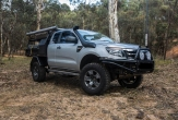 4WD and 2WD (all models) includes RELAY harness (SUITS VEHICLE WITH OVERSIZE SPARE WHEEL)