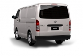 HIACE LWB (NOT SLWB) INCLUDES TAIL LIGHT PROTECTION BARS