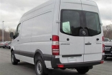 SPRINTER VAN without bumper step (Mid and Long wheel base models)