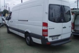SPRINTER VAN fitted with bumper step (Mid and Long wheel base models)